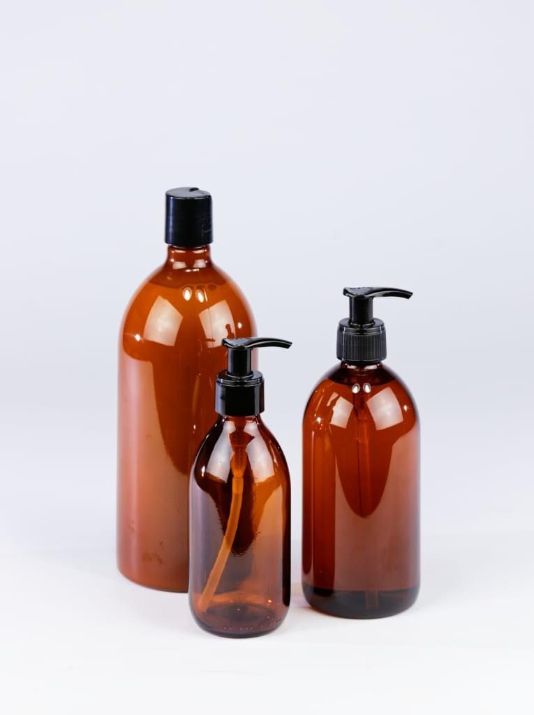 Flacons disponibles pour la fabrication de savon liquides