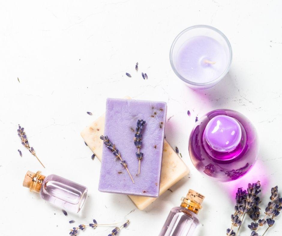 Cosmétiques huiles essentielles parfums